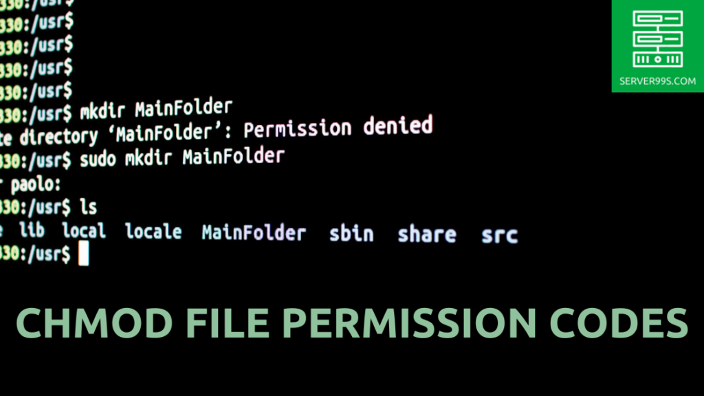 What are CHMOD file permission codes and how can you set them up to setup permissions for all the users and the user groups. Read more...