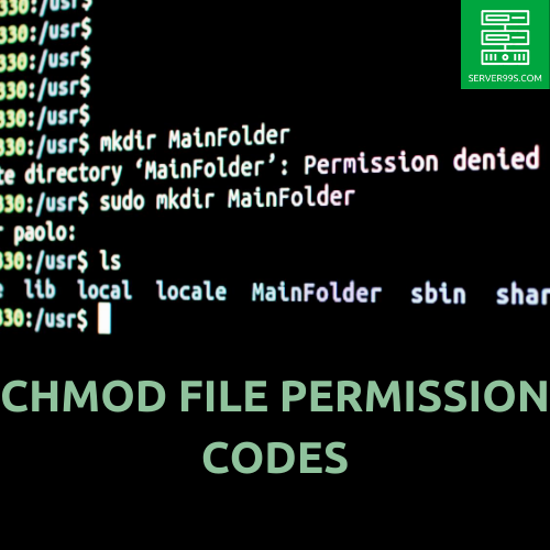 chmod file permission codes