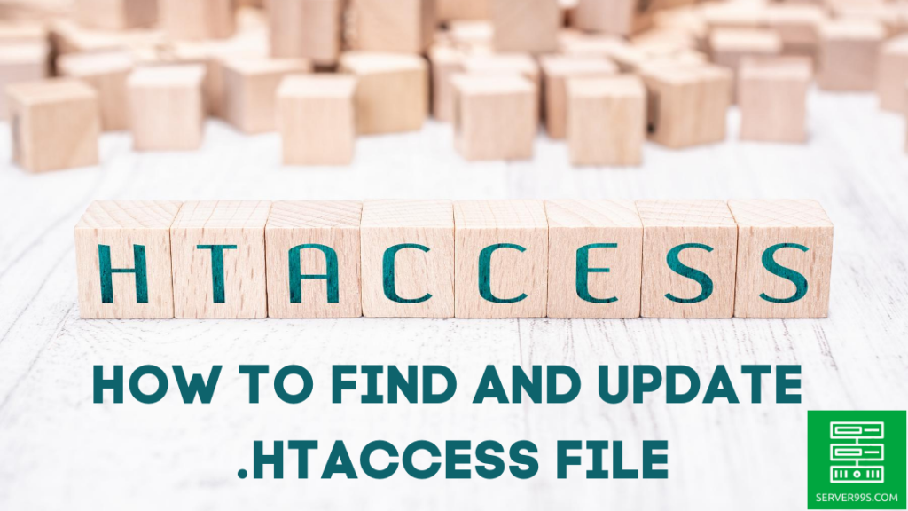 How to find and update the .htaccess file